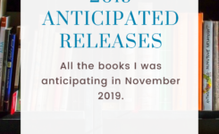 November Anticipated Releases